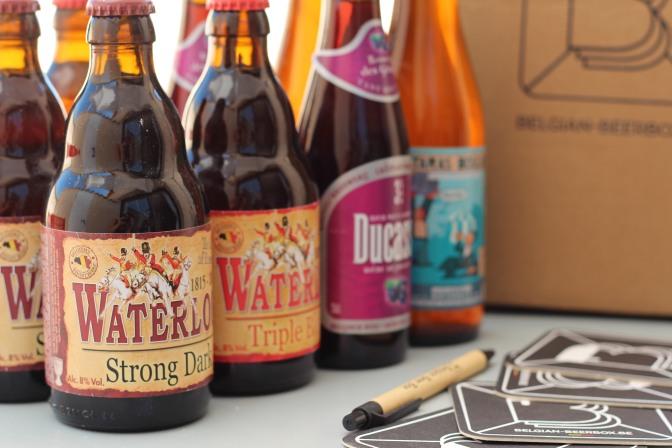 J'ai testé la Belgian Beer Box !