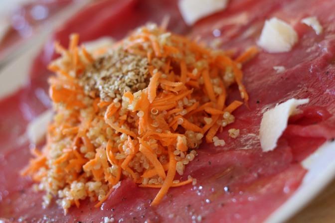 Des carottes râpées  pas comme les autres !