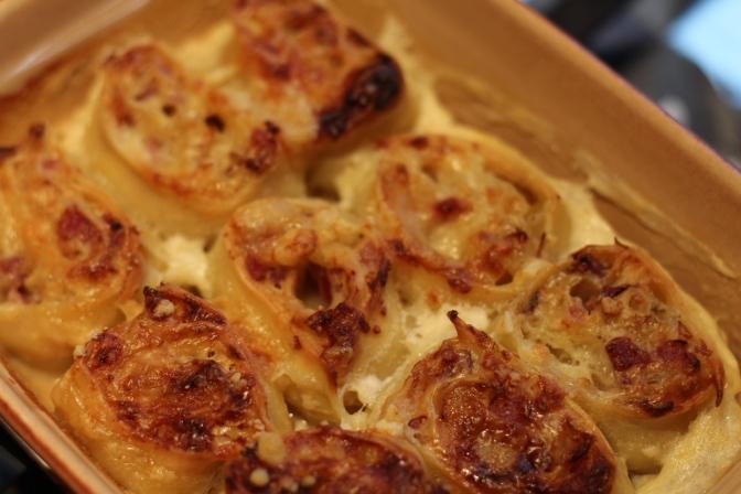 pâtes roulées au castelmagno