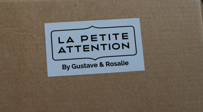 La Petite Attention by Gustave et Rosalie – Les tests de Box