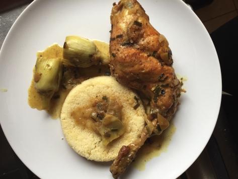 cuisses de lapin citrons confits