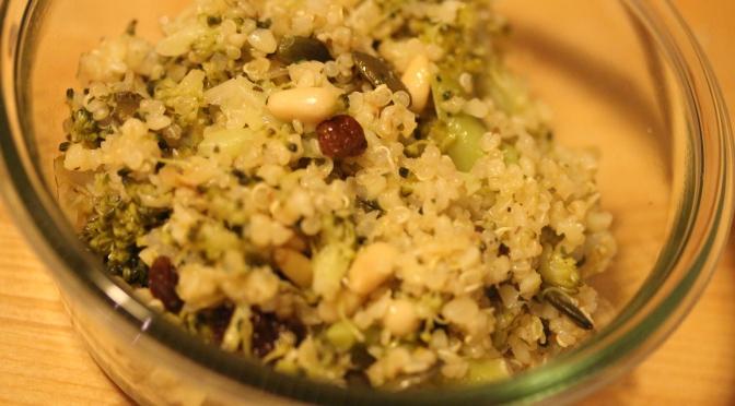 Poêlée Vegan Brocolis Boulgour Quinoa